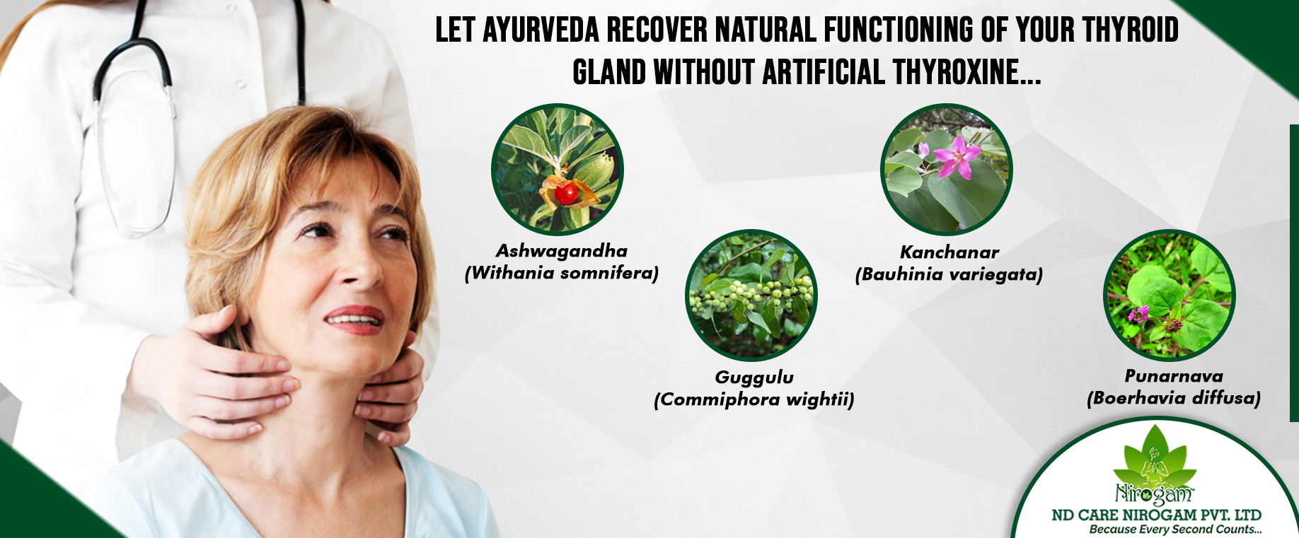 Ayurvedic thyroid Treatment